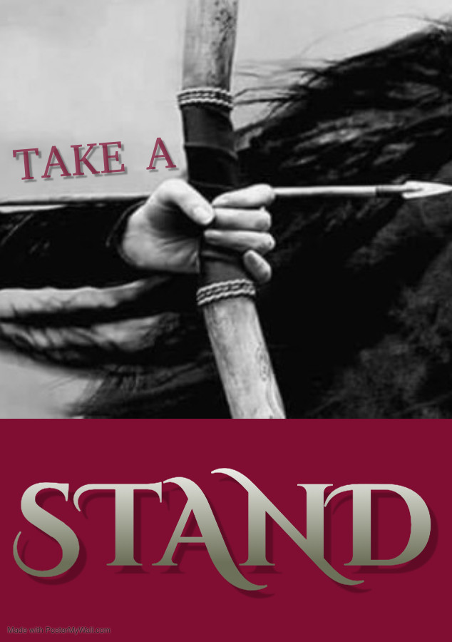 'Take A Stand For Your Life'