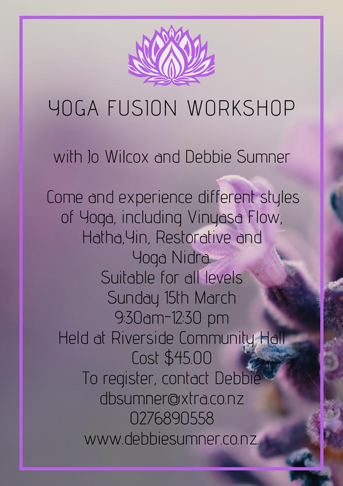 Yoga Fusion Poster