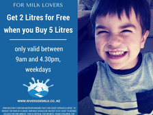 Get 2 litres FREE when you Buy 5 (May)!