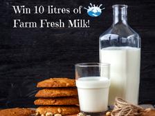 Win 10 Litres of Milk!