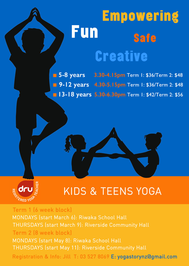 Yoga for Kids & Teens