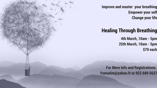 'Healing Through Breathing' Workshops