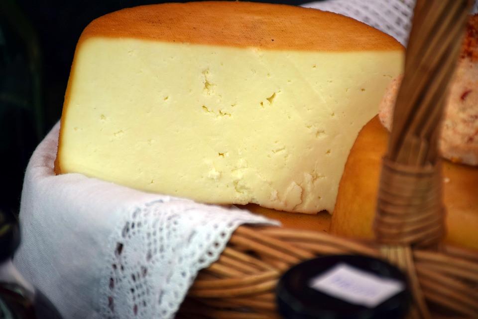 Make cheese at riverside in june
