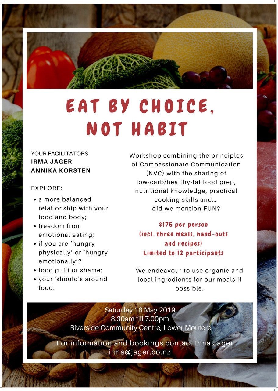 eat by choice workshop