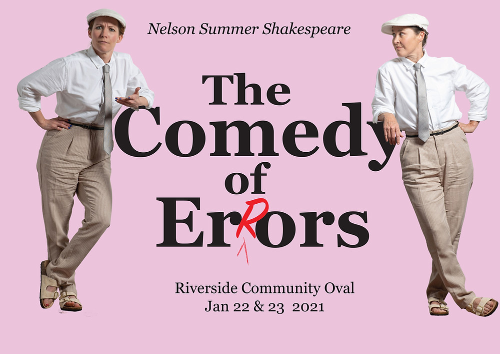 Nelson Summer Shakespeare at Riverside 2021 Poster