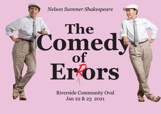 The Comedy Of Errors - Outdoor Theatre