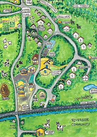 Riverside Community Map