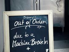 Machine Break In
