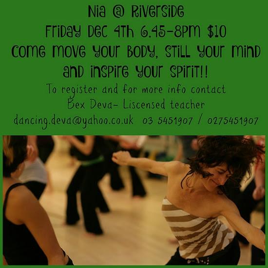 NIA Dance Class