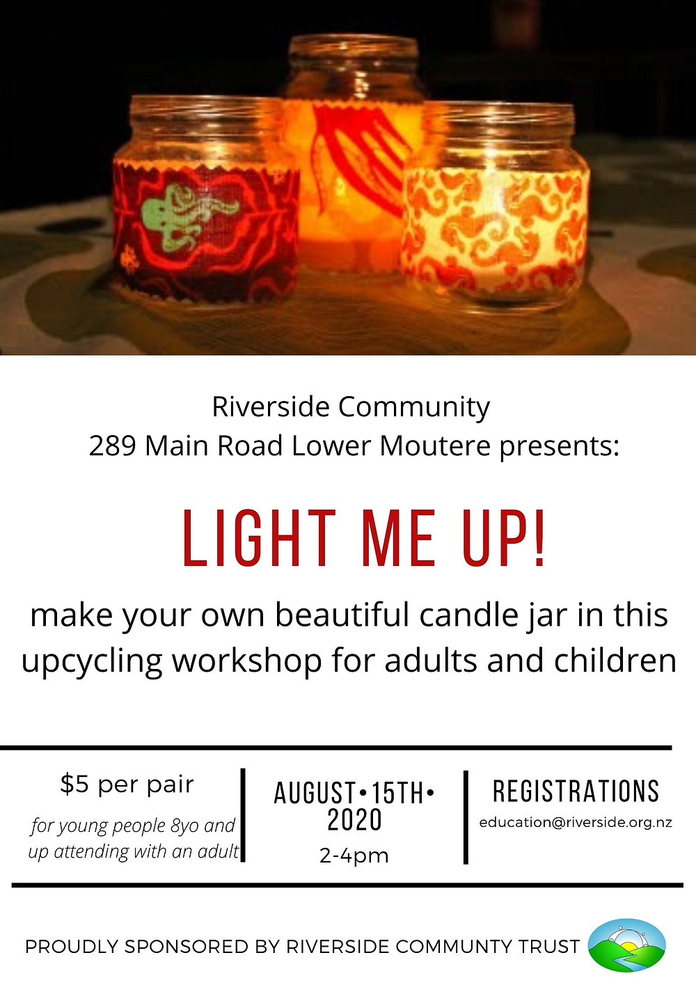 Upcycling candle jars