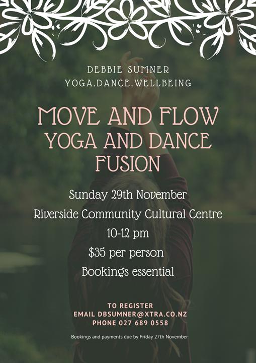 Yoga Dance Fusion Poster