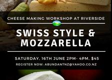 Make Cheese: Swiss Style & Mozzarella