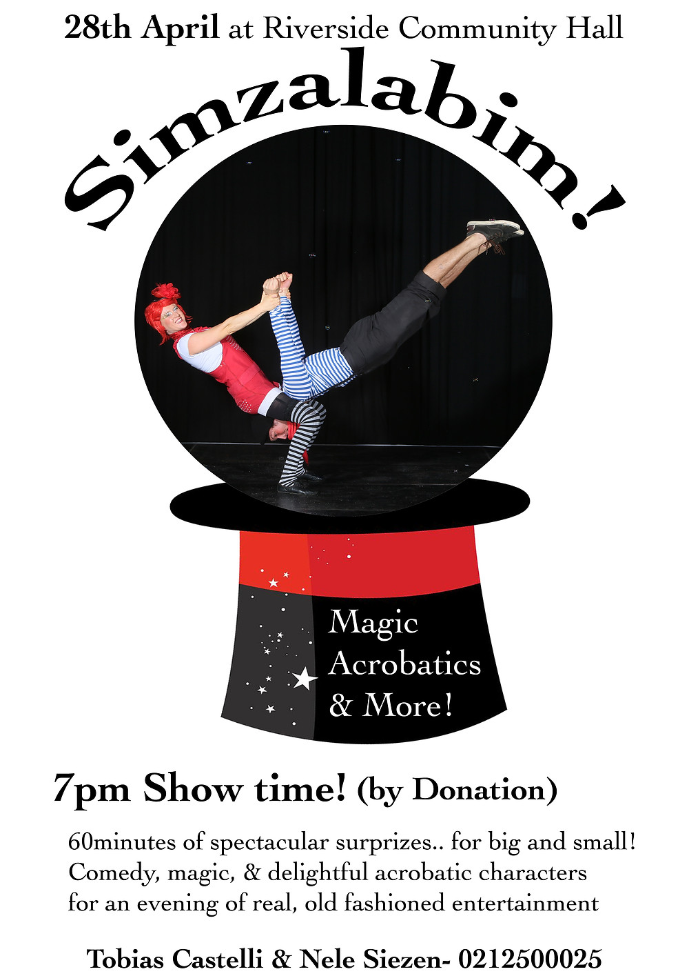 Simzalabim Show Poster