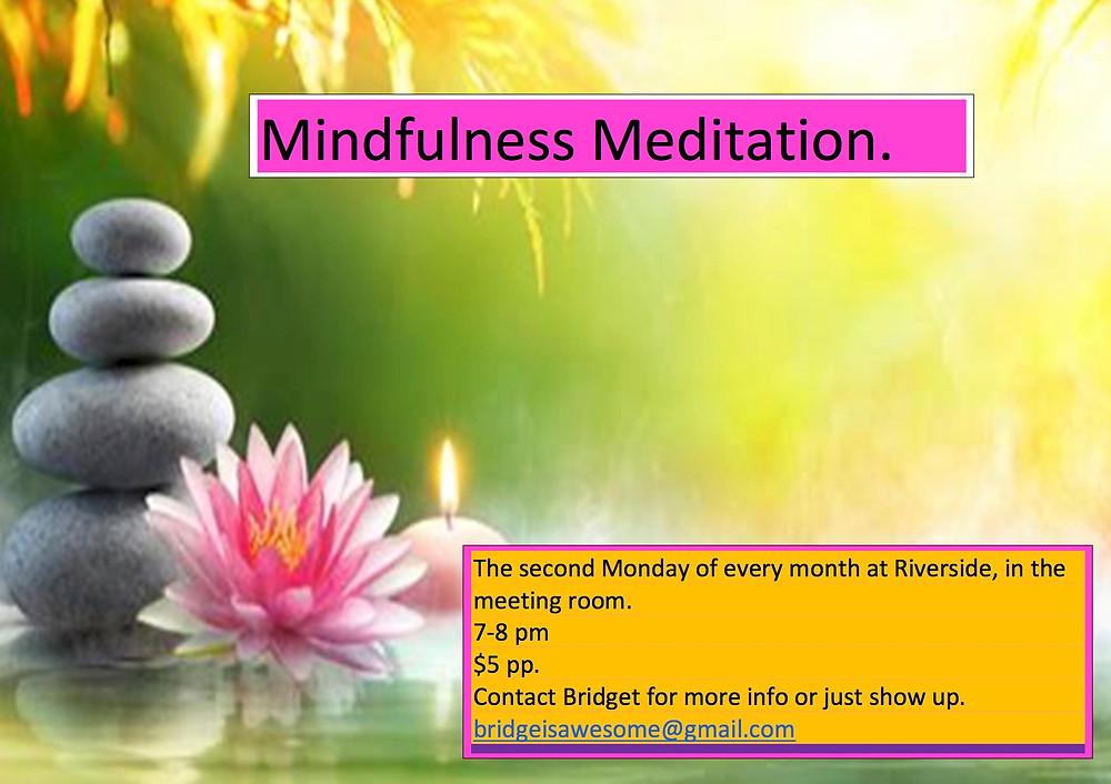 Mindfulness Meditation at Riverside