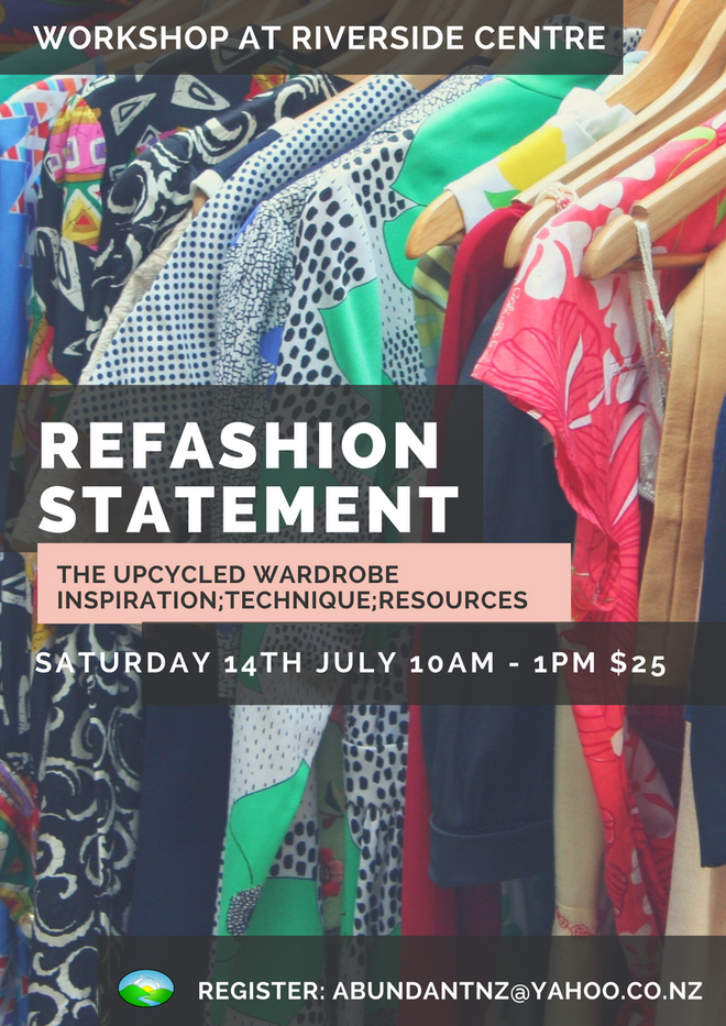 CANCELLED - Refashion Statement - The Upcycled Wardrobe
