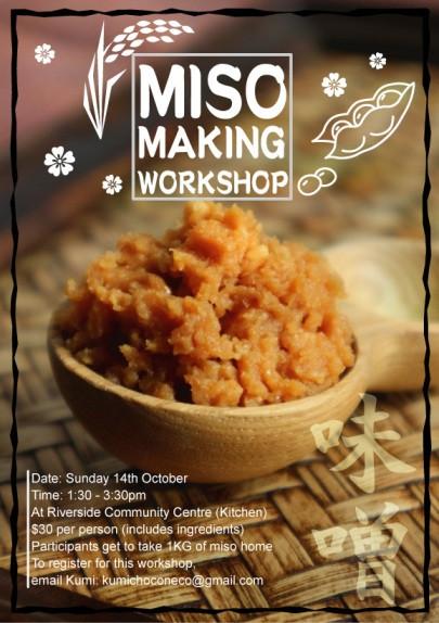 Miso Making Workshop