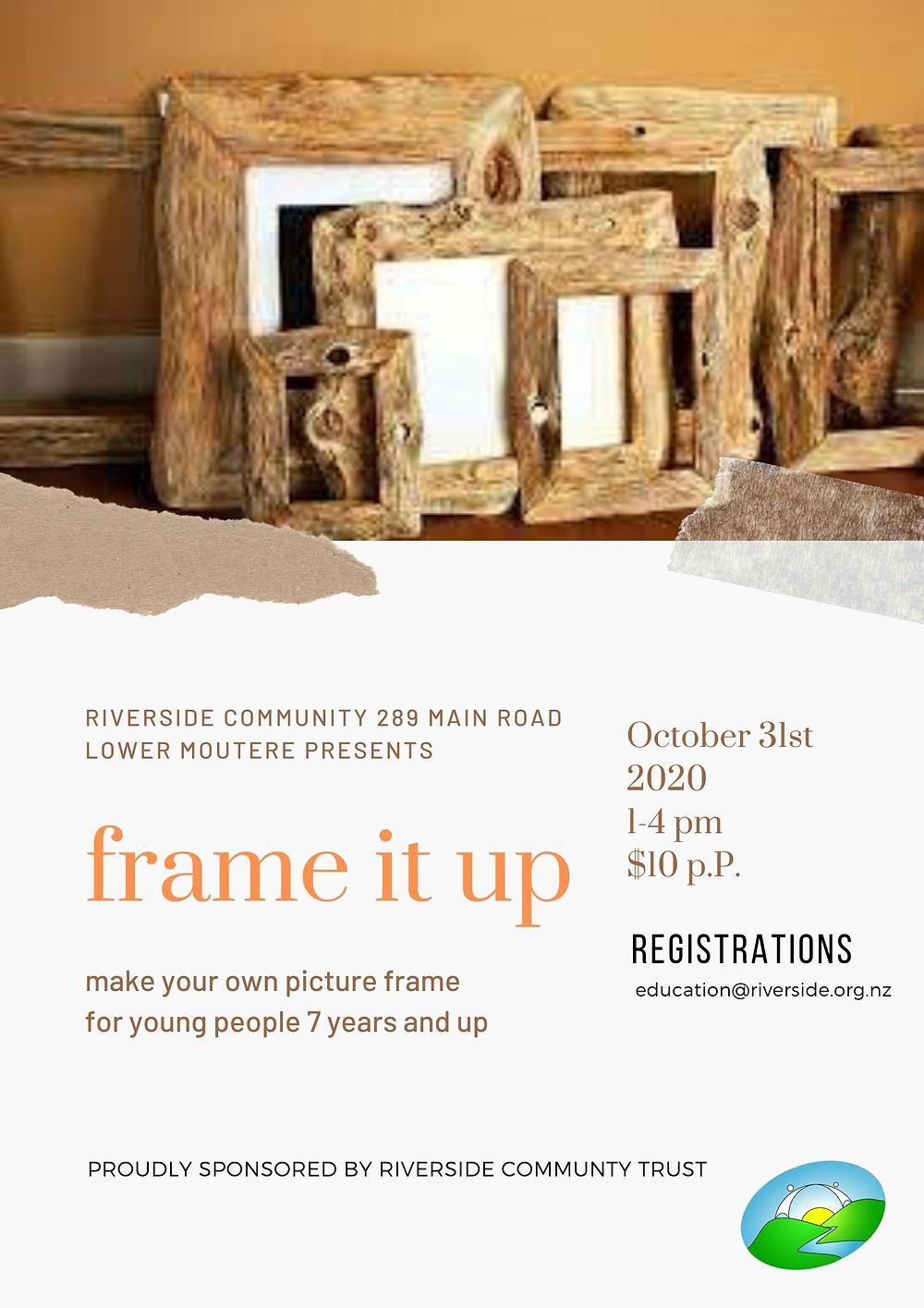Picture Frame Poster, Riverside