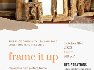Make Your Own Picture Frame (7years+)