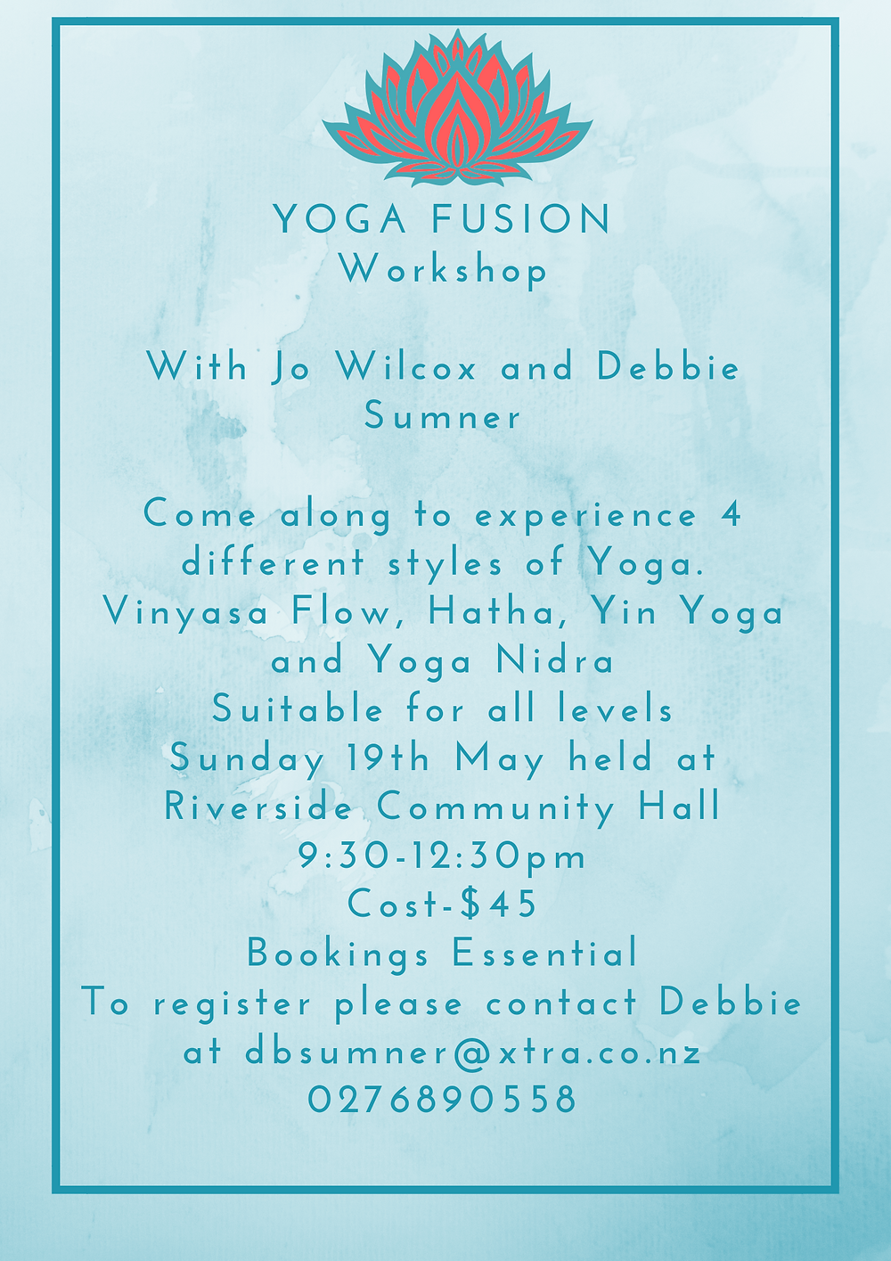 Yoga Fusion Workshop