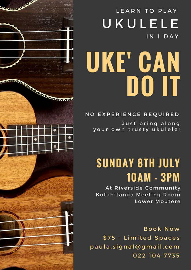 Uke' Can Do it - Learn How To Play Ukulele in 1 Day