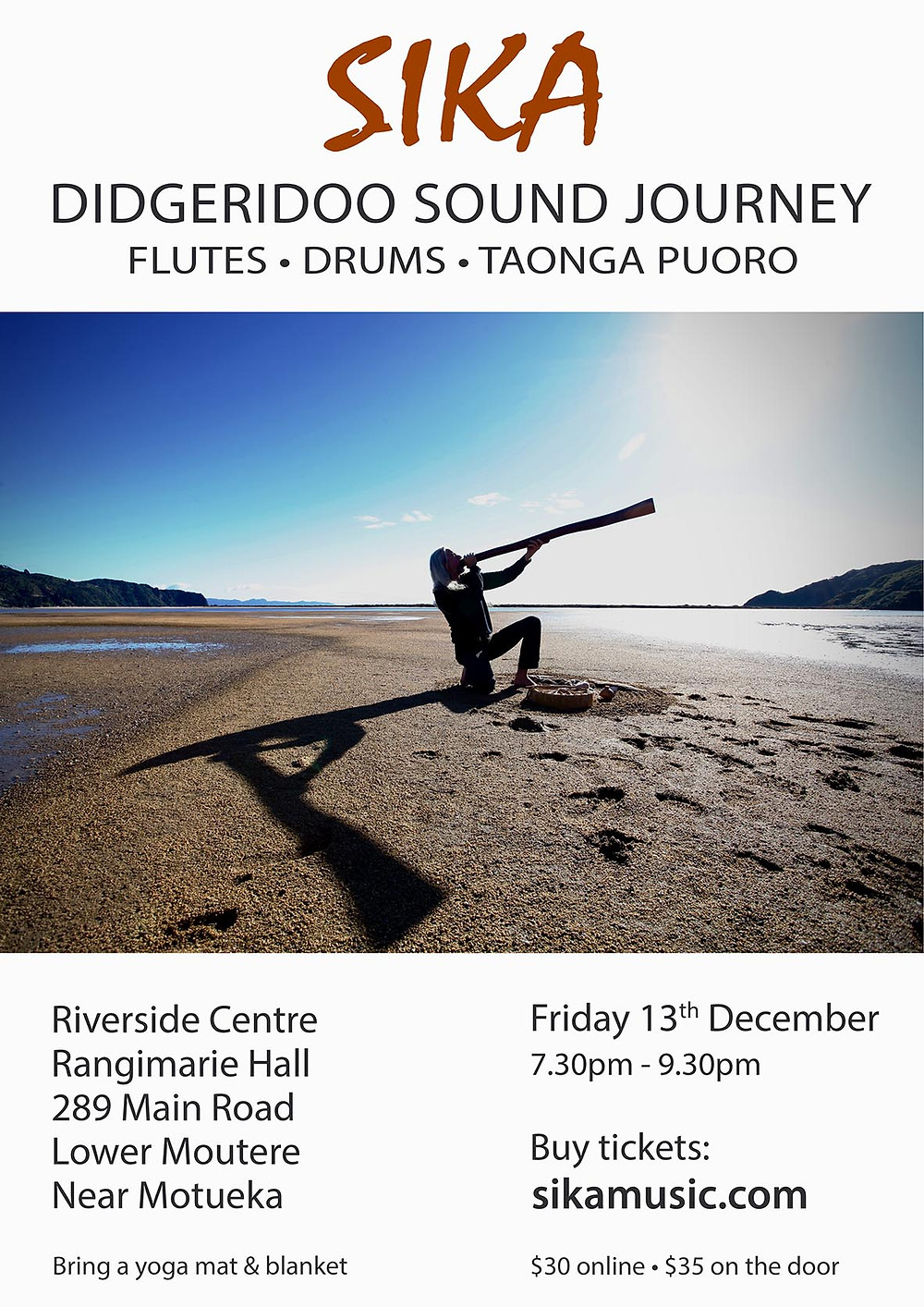 Sika Sound Journey December Poster