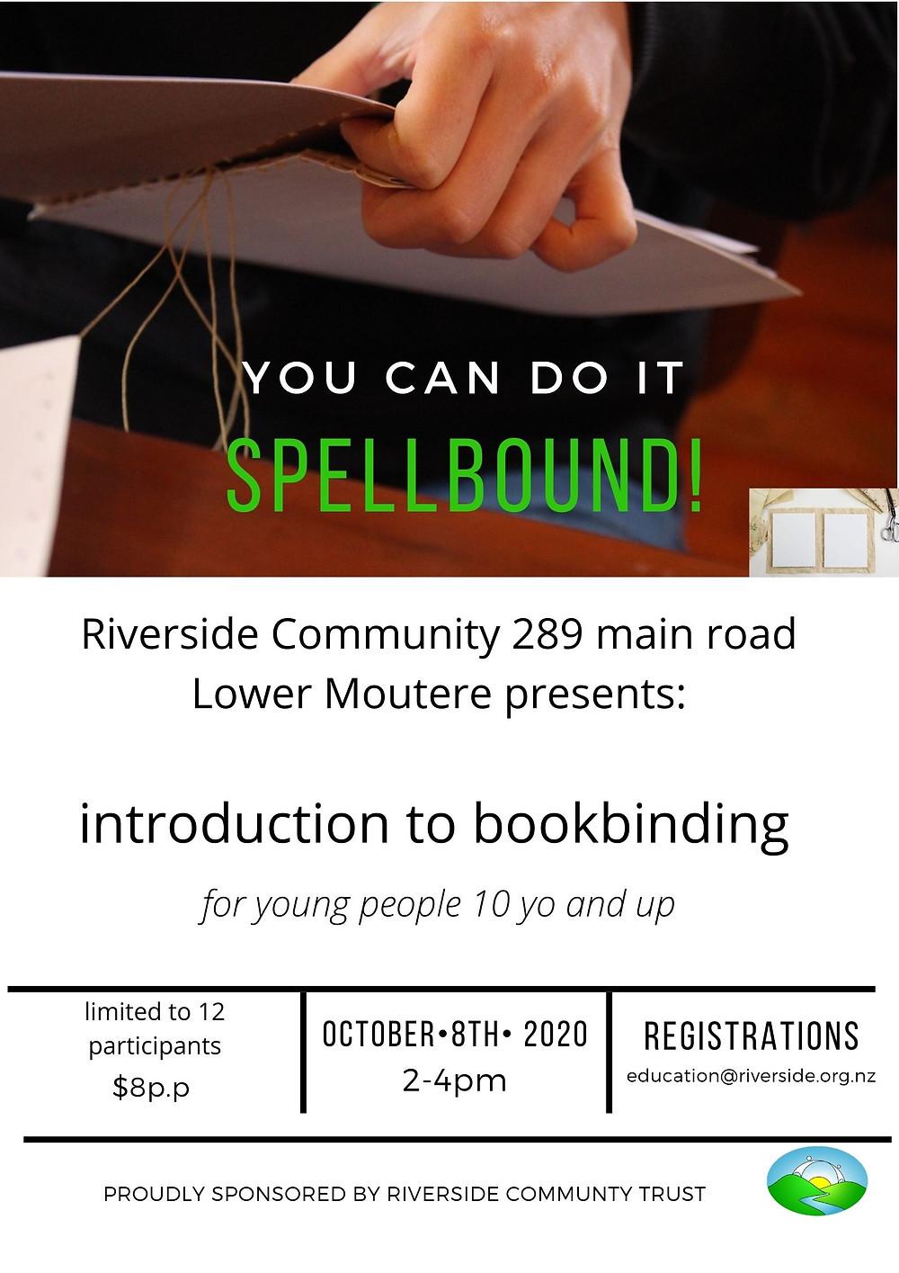 Bookbinding Poster