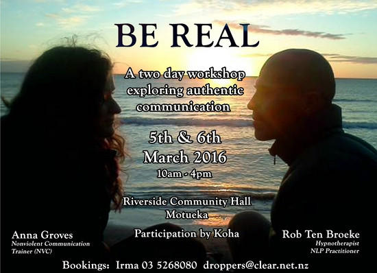 'Be real' - authentic communication workshop