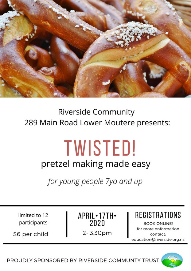 Pretzel Workshop For Kids (April 2021)