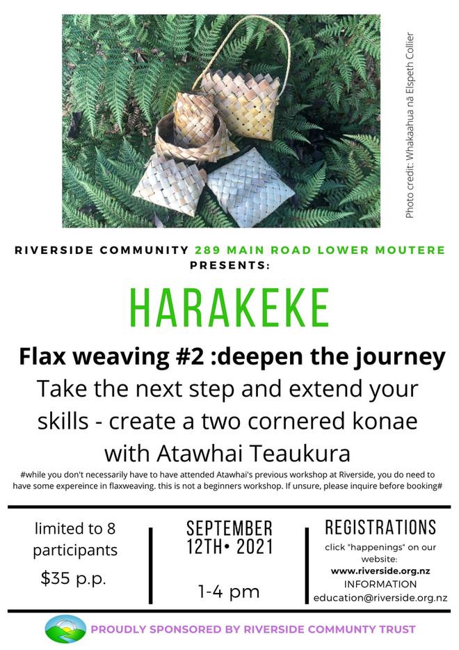 Harakeke: Flax Weaving #2