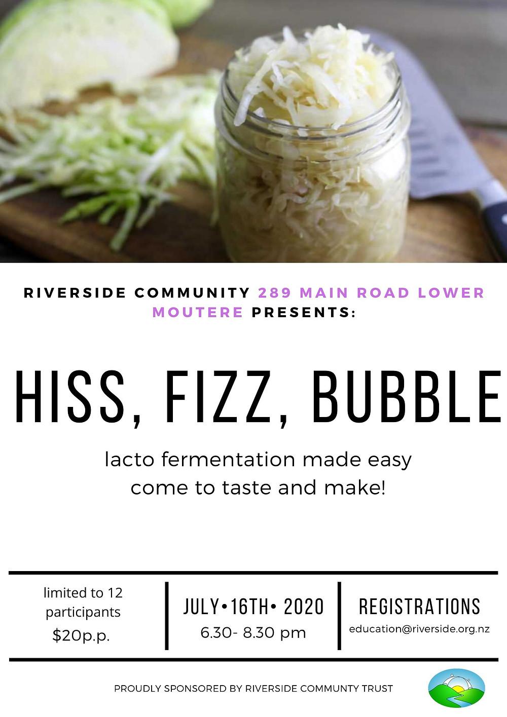 fermentation poster Riverside