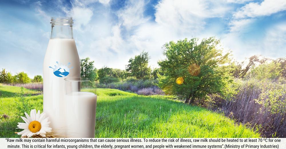Riverside Milk bottle before landscape