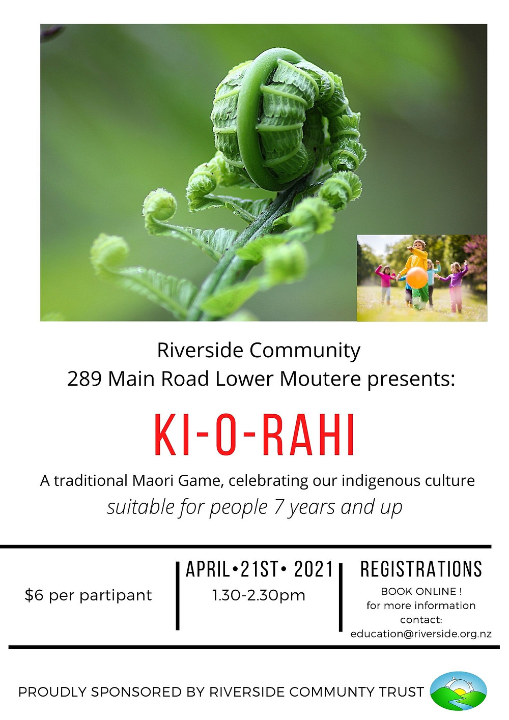 KI-O-Rahi Workshop Poster