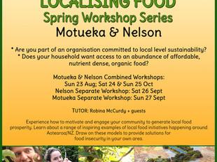 Local Food Resilience - Workshop Series