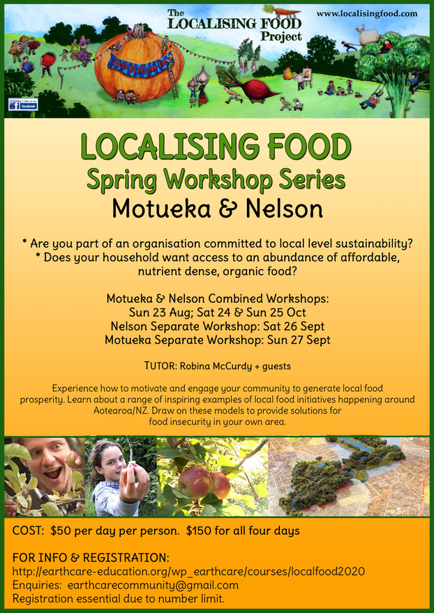Local Food Resilience - Workshop Series