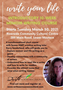 Introductory Memoir Writing Course