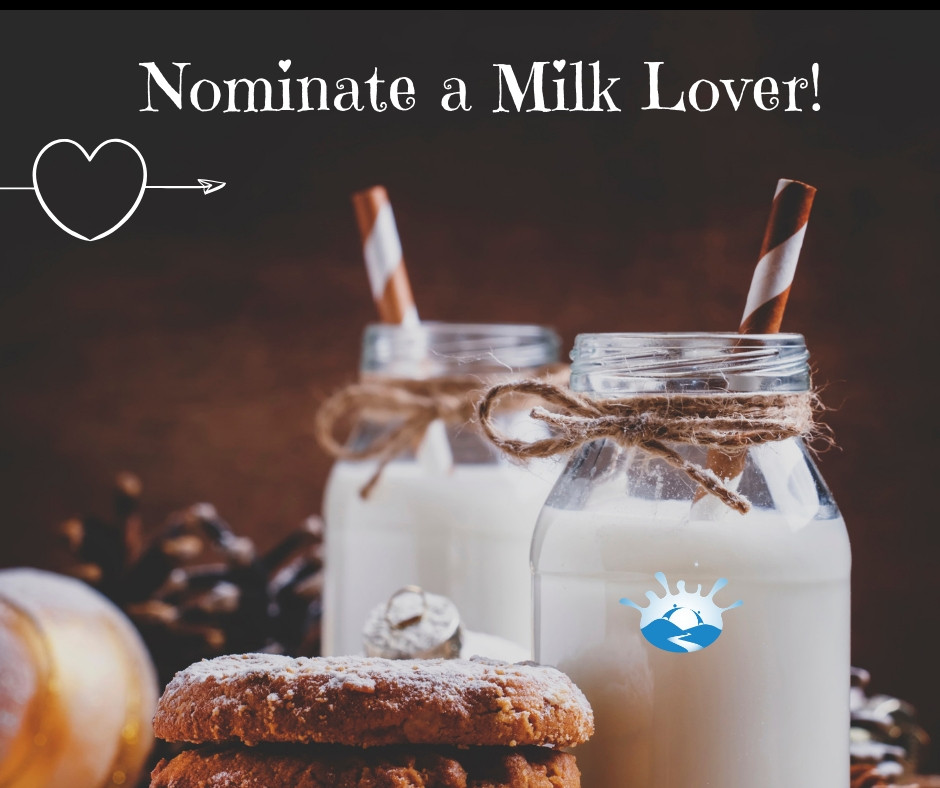 Nominate a Milk Lover Poster Riverside Milk