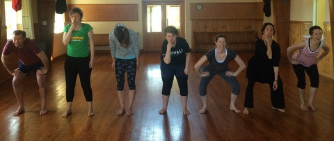 'Introduction to Physical Theather' workshop with Damara Sylvester
