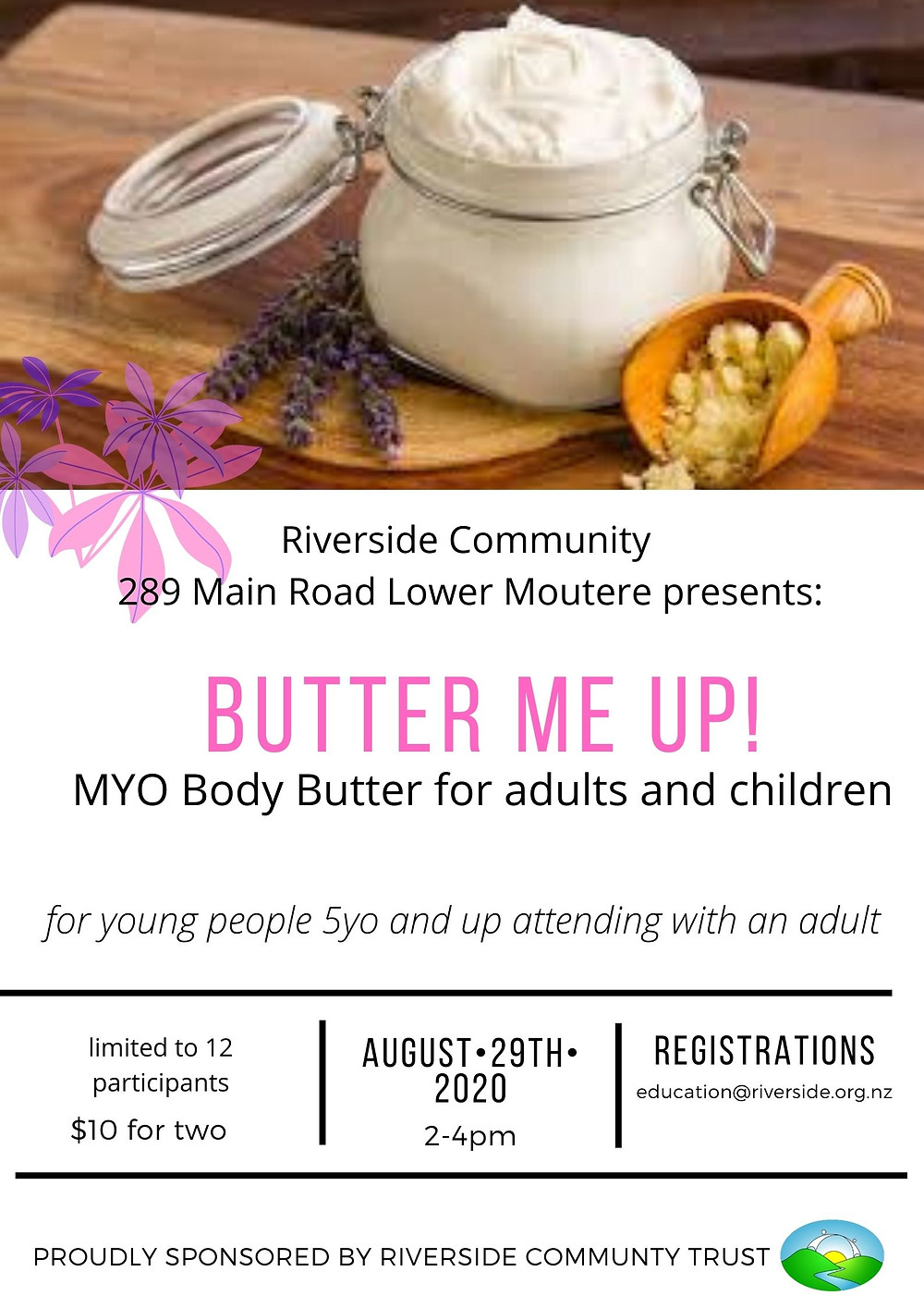 Body Butter at Riverside August 2020