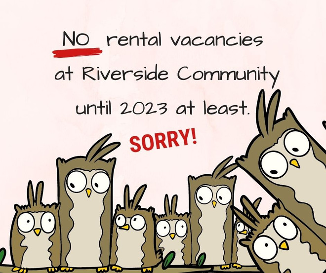 No Rental Vacancies Available