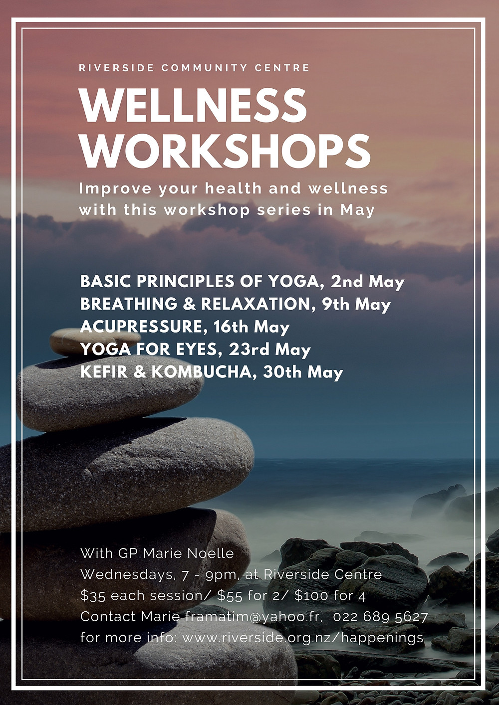 wellness workshops in may workshop