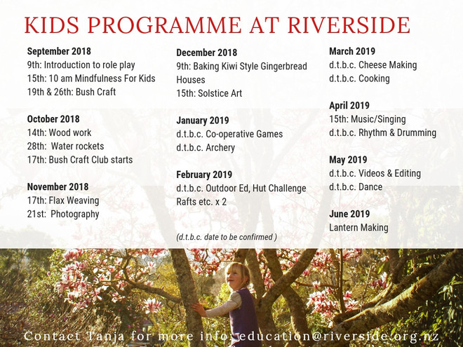 Kids Programme At Riverside