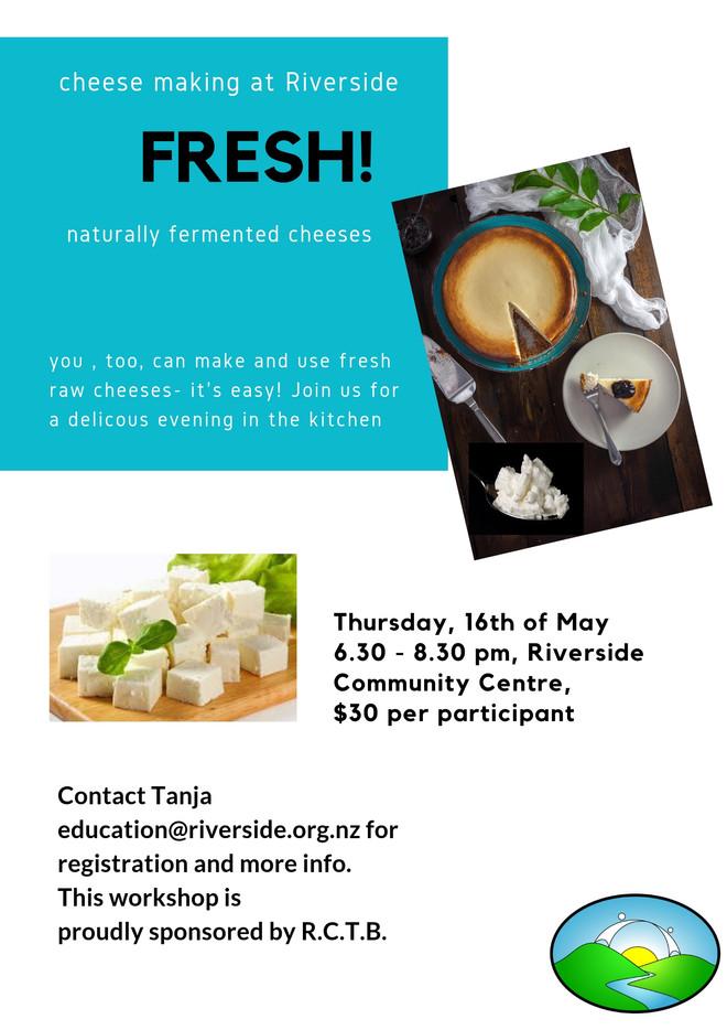 'Fresh' - Cheese Making Workshop