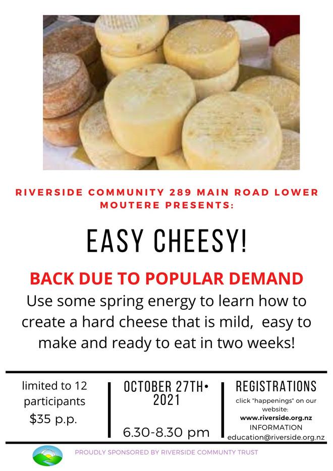 Easy Cheesy! Cheese Making Workshop
