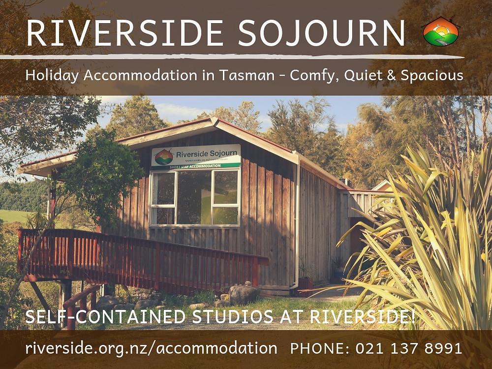 Riverside Sojourn Poster
