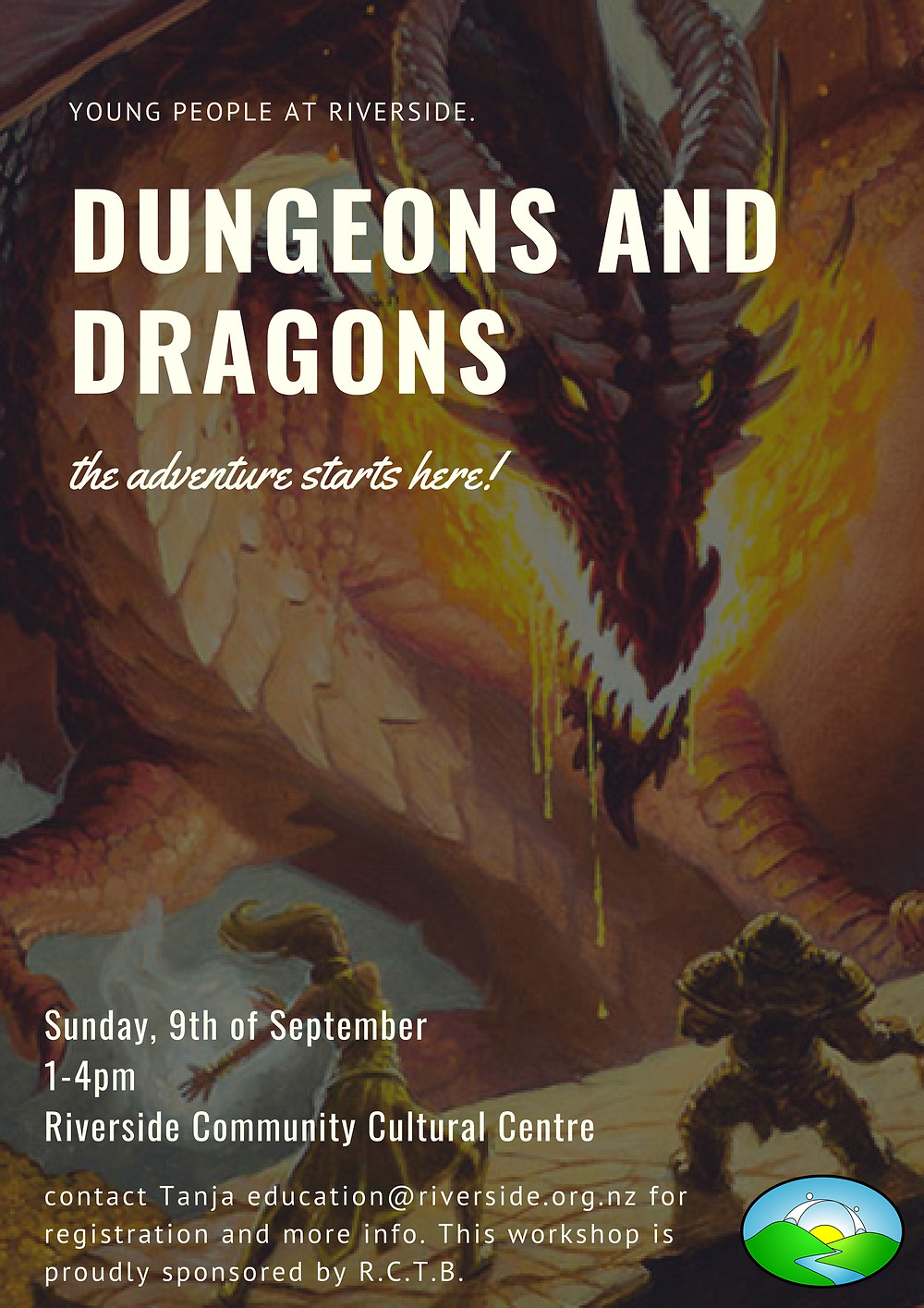 dungeons and dragons event poster