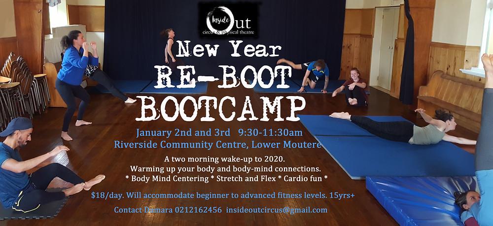 Reboot Camp at Riverside Poster