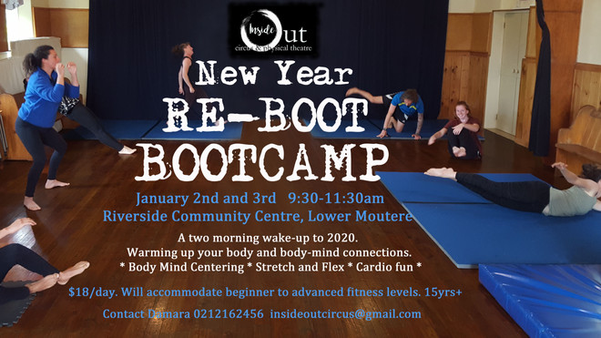 Reboot Bootcamp (15years+)