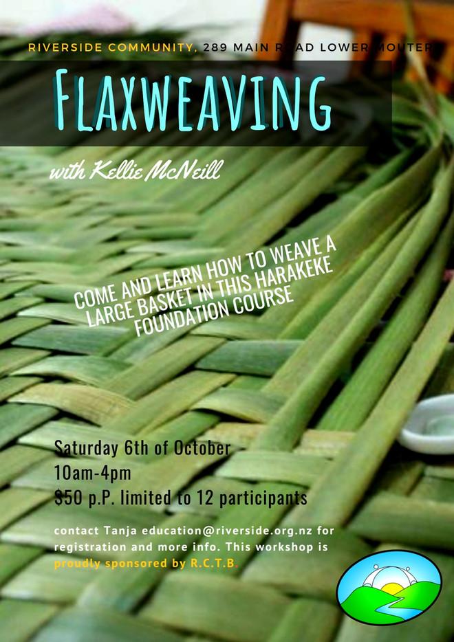 Flax Weaving - A Harakeke Foundation Course