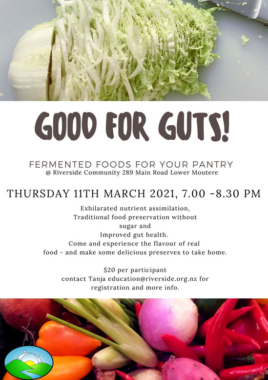 Fermentation Workshop (March 2021)