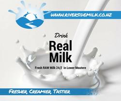 Drink Real Milk